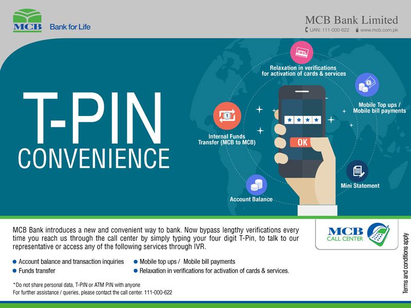 MCB Bank Pakistan | Personal Services | Call Center