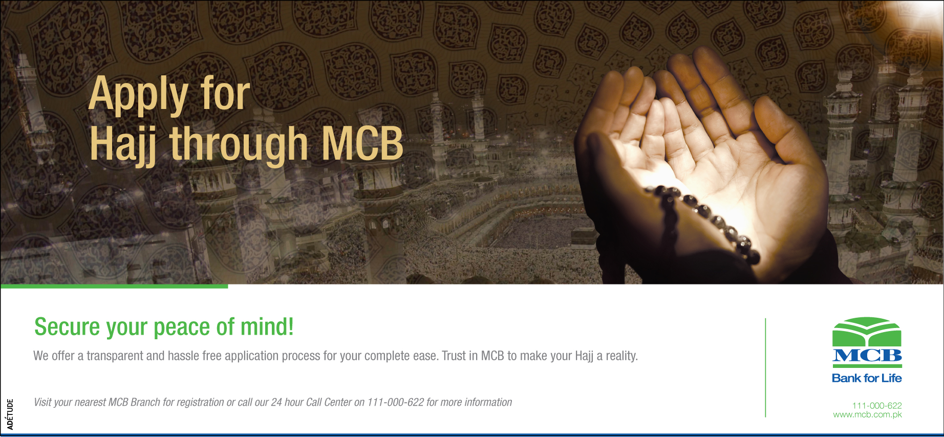 Mcb Bank Pakistan Media Center Press Ads