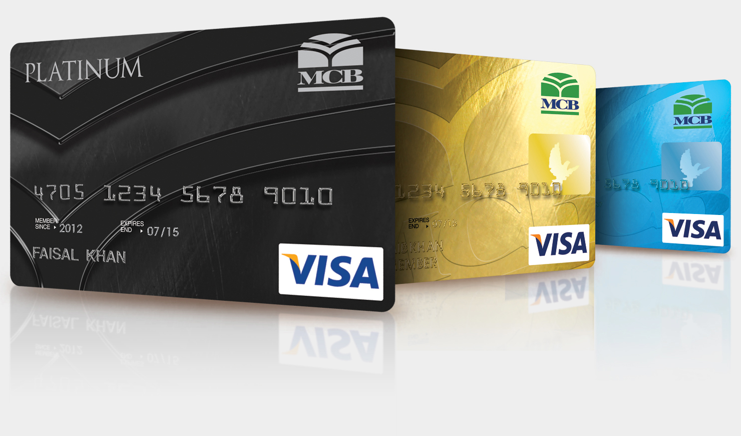 Credit Card Tracker >> MCB Bank Pakistan | Personal | Cards