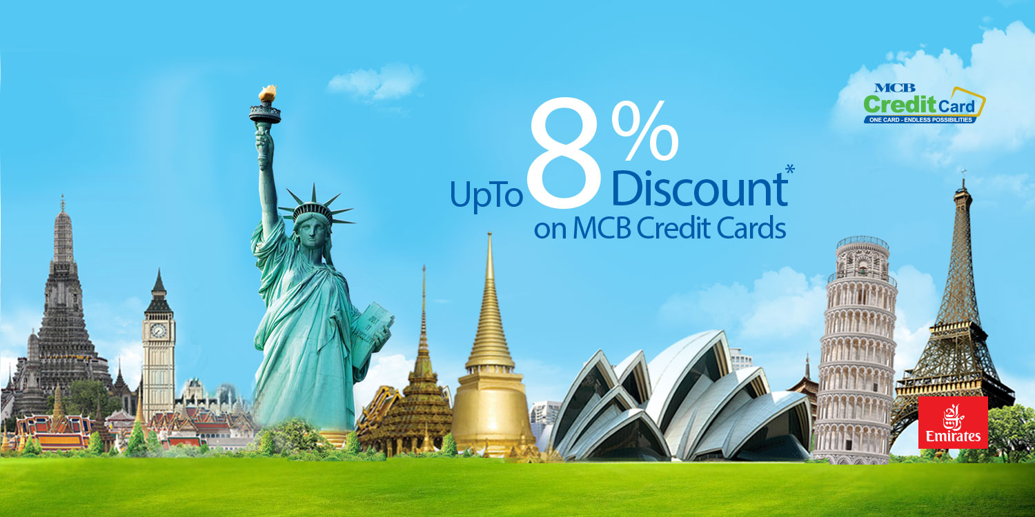 up to 8% discount on credit card